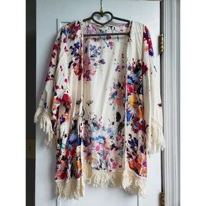 💖 Floral kimono